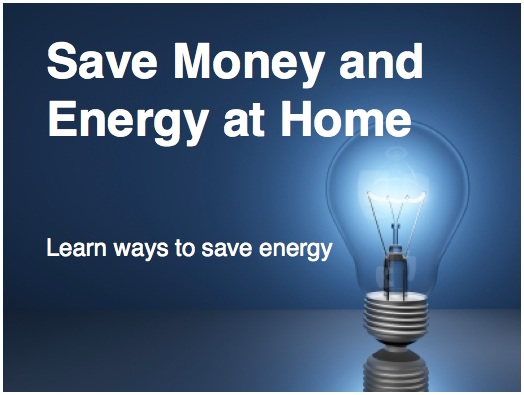 enery saving ideas